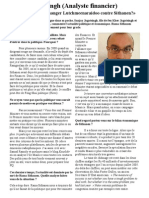 Interview Le Defi Plus 17 April 2010