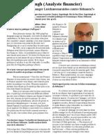 Interview Le Defi Plus 17 April 2010