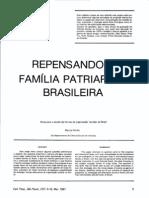 repensando a família patriarcal brasileira