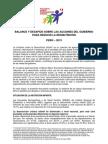 Balance y Recomendaciones IDI 2013