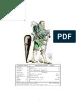 Francesco Sforza Character Sheet
