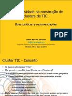 As Universidade na construção de clusters de TIC...