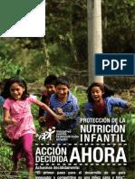 Folleto - Protección de la Nutrición Infantil Ahora