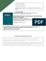 Bohn Dinerstein Spicer 2010(Im)possibilities of Autonomy