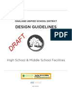 high school and middle school design guidelines