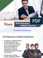 ADM - Administração de Pequena e Media Empresa