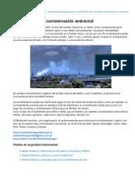 Charlasdeseguridad.com.Ar-Medio Ambiente Contaminacin Ambiental-1