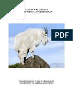 Utah Statewide Goat Plan (Draft)