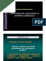Antisepsia e Assepsia 2012
