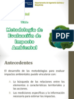 Metodologia de Evalucion de Impacto Ambiental