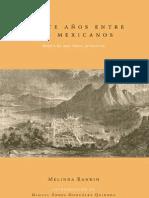 Veinte años entre los mexicanos