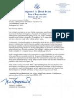 Letter to HHS Sec. Sebelius for Sarah Murnaghan