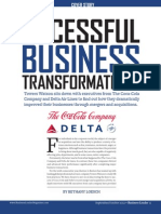 Towers Watson Successful Business Transformation Coke Delta