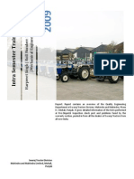 Final Training Report - Punjab tractors Limited (PTL)