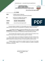 Ing. Olivera - Proce I - Informe Análisis Granulométrico