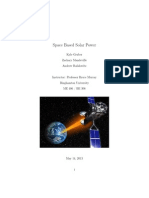 Space Based Solar Power Report
