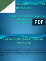 Diapositivas de Los Lineamientos de Preescolar (1)