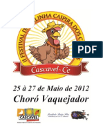 II Festival Da Galinha Caipira