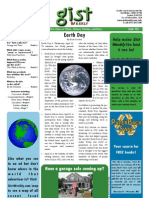 Gist Weekly Issue 21 - Earth Day