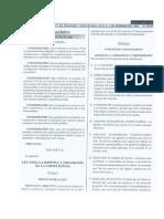 Ley Para La Defensa y Promocion de La Competencia