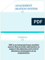 Management Inforemation System