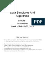 1 - Intro to Algorithms
