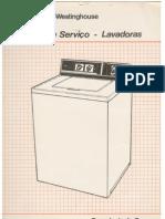 Manual de Serviço e Esquema eletrico da lavadora White-Westinghouse
