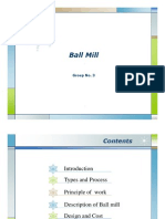 Ball Mill Presentation