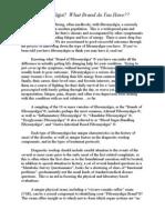 Fibromyalgia Acupressure Therapy | Fibromyalgia | Anatomical