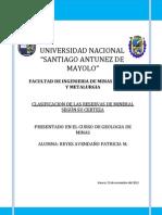 clasificacion de las reservas de mineral.docx