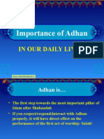 The Message of Adhan