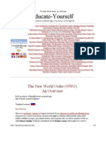 The New World Order, An Overview