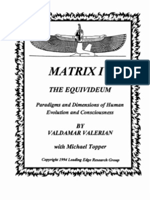 23dfa1bda0a Valdamar Valerian - Matrix IV