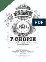 Chopin Waltz in E Minor Opus Posth