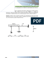 Ejemplo 5 Capitulo 3 Analisis Portico Indeterminado Metodo c