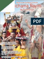 Revista Historia Vichama Raymi Paramonga