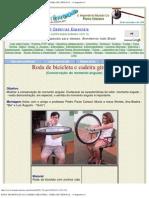 RODA DE BICICLETA E CADEIRA GIRATÓRIA