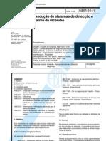 NBR 9441 - Execução de Sistemas de Detecção e Alarme de Incêndio
