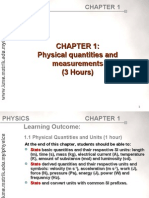 Physical quantities Matriculation STPM