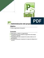 Manual Project 2010 sesión 7