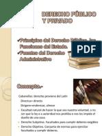 3.- Derecho Publico y Privado, Fuentes d Adm