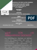 KARINA ALVAREZ BAUTISTA; LAS HERRAMIENTAS DIGITALES. LAS TIC´S.
