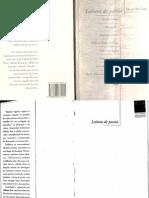 BOSI, Alfredo (Org.) - Leitura de Poesia