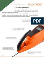 Detector de Desperfecto de Revestimiento Elcometer 280