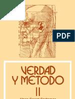 Gadamer, Hans-Georg - Verdad y Metodo
