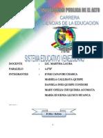 La educación en Venezuela