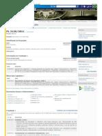 PL 2126-2011 - Projetos de Lei e Outras Proposições - Câmara dos Deputados