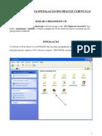 Instrucoes Para Instalacao Do Oracle Client 8.1.7