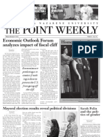 The Point Weekly – 11.19.2012