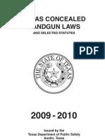 Concealed Handgun Handbook